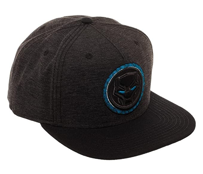Image Unavailable. Image not available for. Color  Marvel Comics Black  Panther Snapback Grey Baseball Hat ... 82df61fb0b0f
