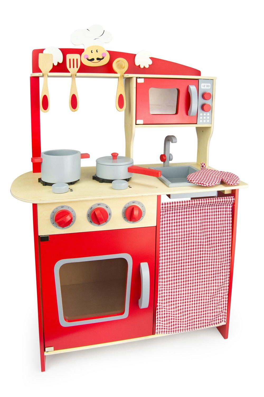 Kinderküche Rot - Leomark Chefküche