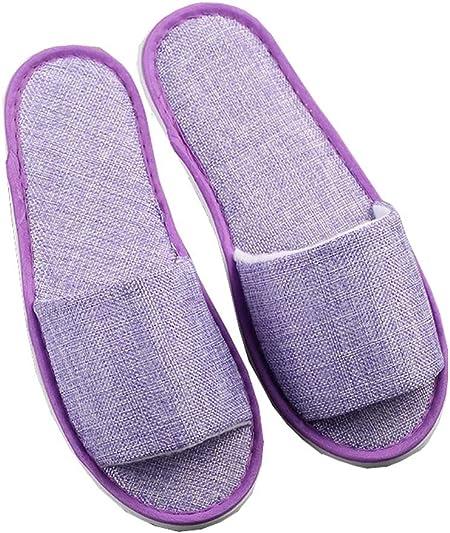 purple open toe shoes