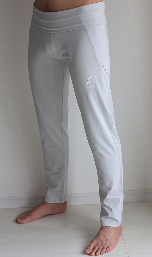 Esprit Daylu - Pantalones de yoga para hombre y mujer (algodón ecológico), Mujer Hombre, leggings, plateado, medium: Amazon.es: Deportes y aire libre