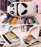 Corsion Cute Kawaii 3D Panda Pencil Case School