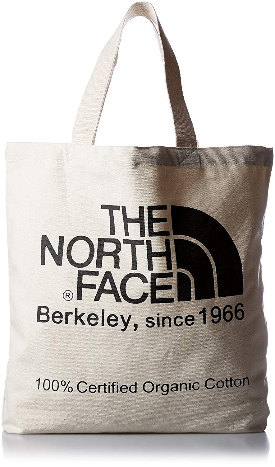 17e3480721 Amazon.com | THE NORTH FACE 100% Organic Cotton Tote Shoulder Bag,  Large-Capacity Anywhere Canvas Bag, Berkeley, since 1966 (Black) | Travel  Totes