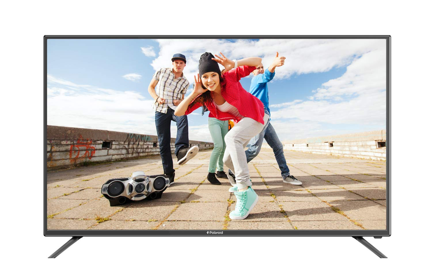 Polaroid A50UM7S 50-Inch 4K Smart LED TV, Black (2018) Hot New TV Deals $399.99