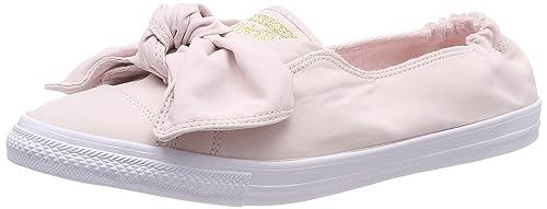 Converse CTAS Knot Slip, Zapatillas sin Cordones para Mujer, Rosa Barely Rose/White