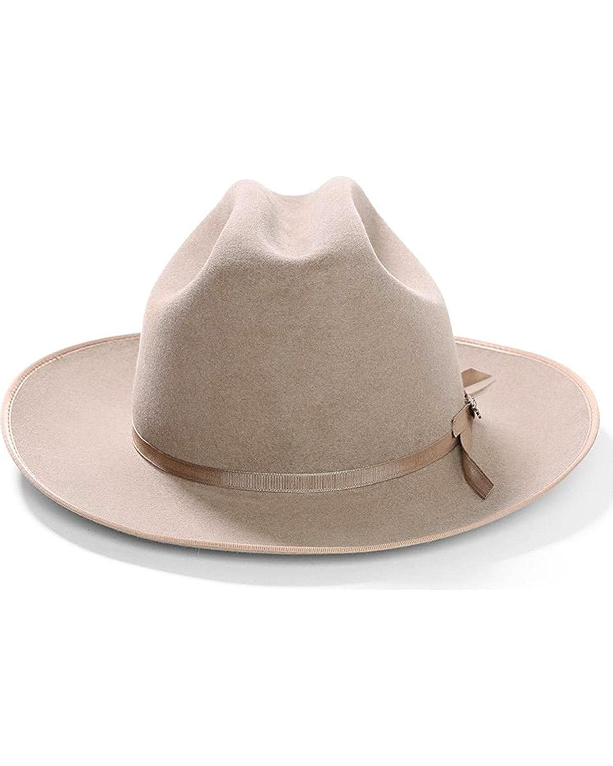 9cbac19308a3a Stetson Royal DeLuxe Open Road Hat at Amazon Men s Clothing store