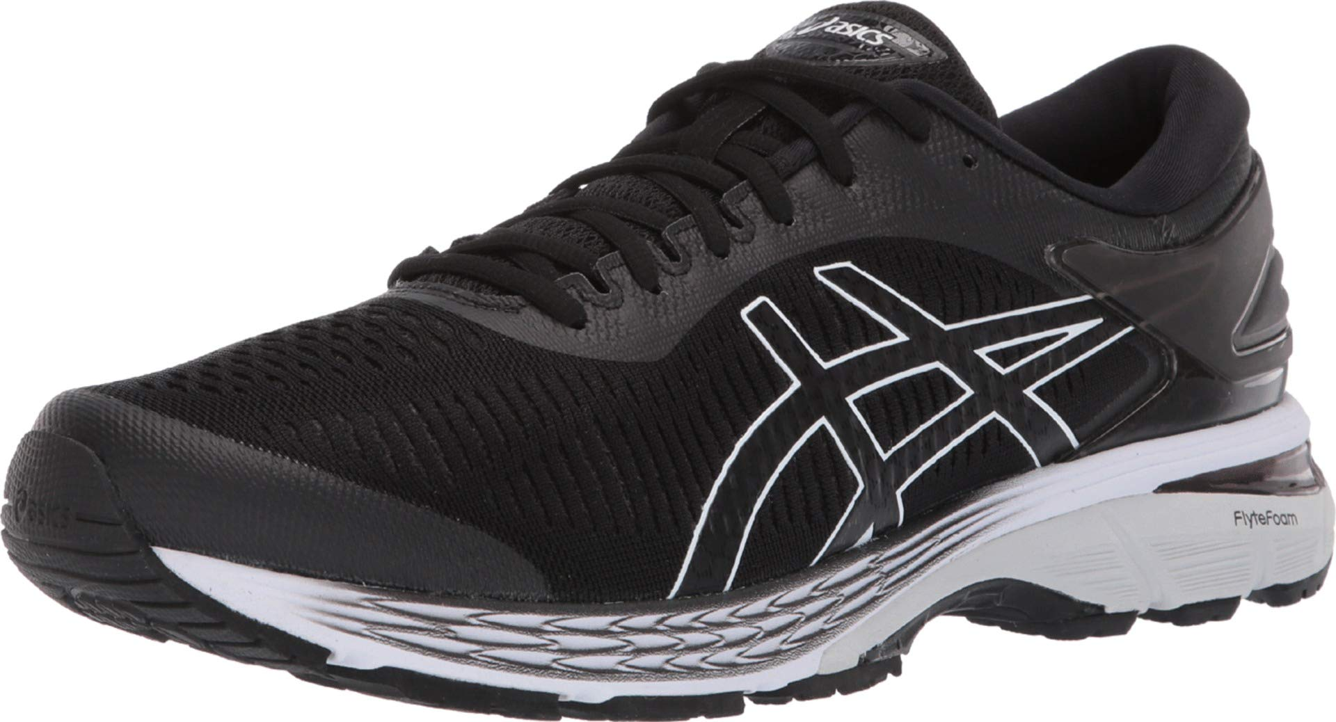 ASICS Gel Kayano 25 Men's Running Shoe, Black/Glacier Grey, 6 D US by ASICS (Image #1)