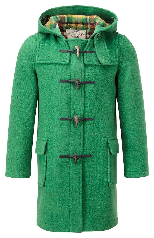 Amazon.com: Womens Classic Duffle coats -- Green: Clothing