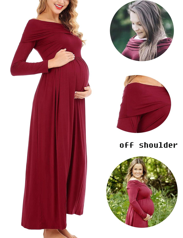 4d7028ecdec9 nursing dress /maternity dress/pregnant dress/maternity pictures/maternity  shoot /maternity photo shoot. Maternity long sleeve dress goes with  breathable ...