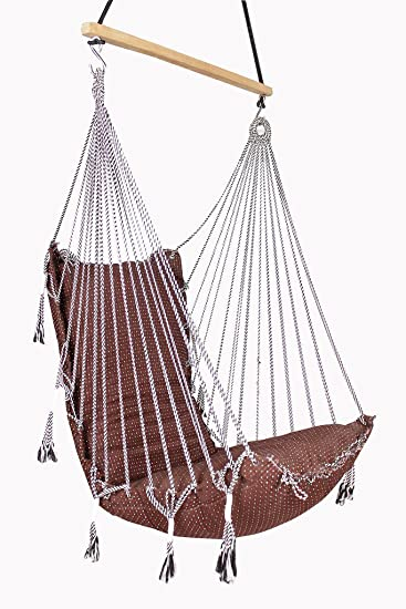 IRA Fabric Swing Chair in Assorted Color.