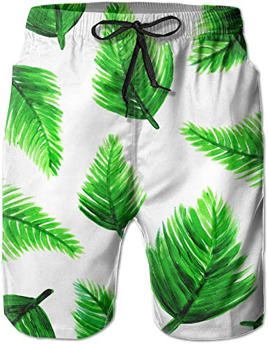 Mfasica Men Classic Knee Length Casual Drawstring Beach 100/% Cotton Shorts