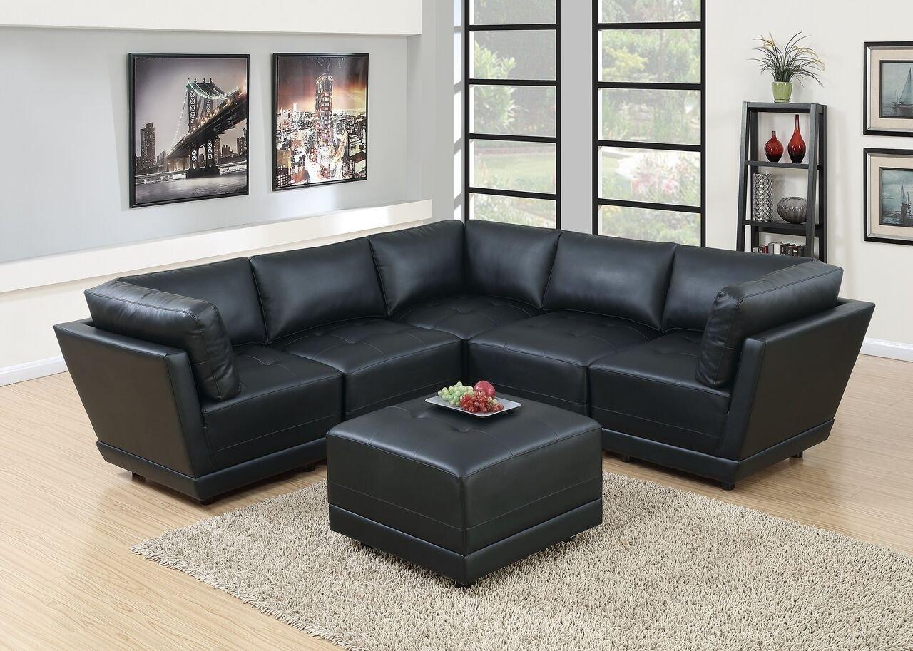 Amazon Com Hollywood Decor Malaga 6 Piece Modular Sectional Sofa