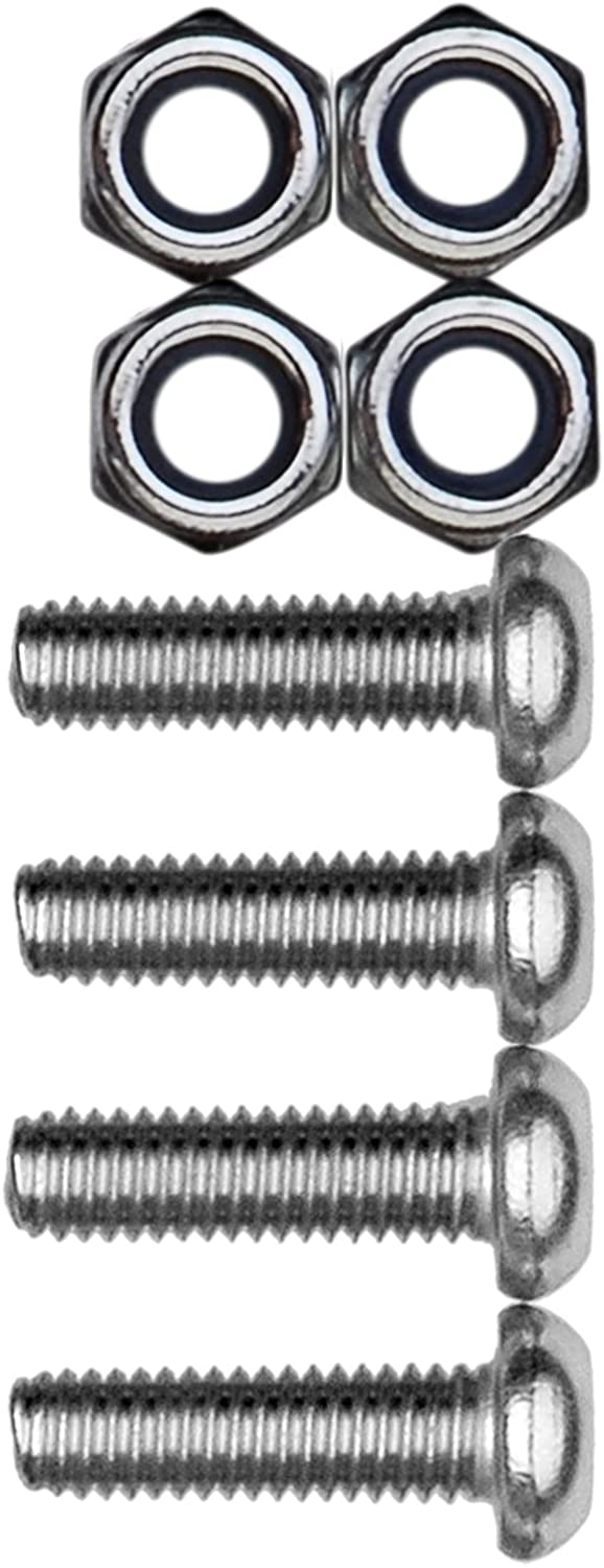 Metric-Steel Cruiser Accessories 80330 License Plate Frame Fasteners