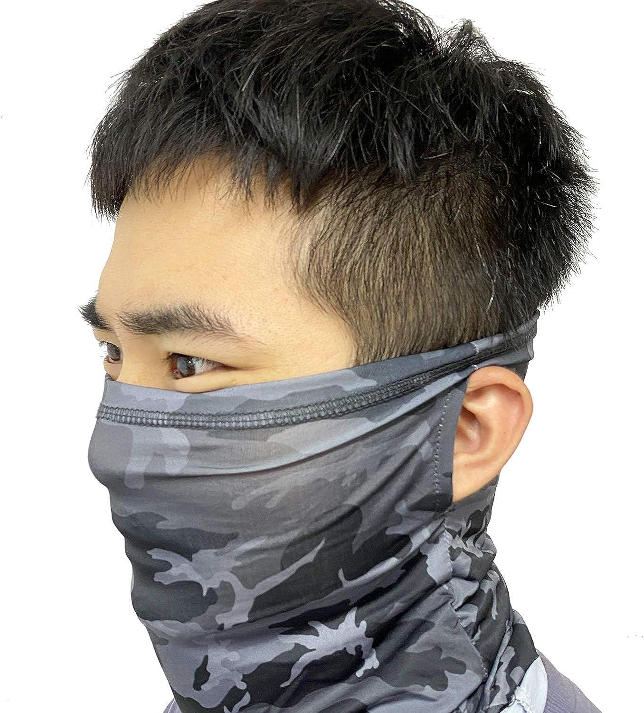 Heart Horse Neck Gaiter Cooling Dust Wind UV Sun,Summer Neck Bandana,for Women Men Face Scarf