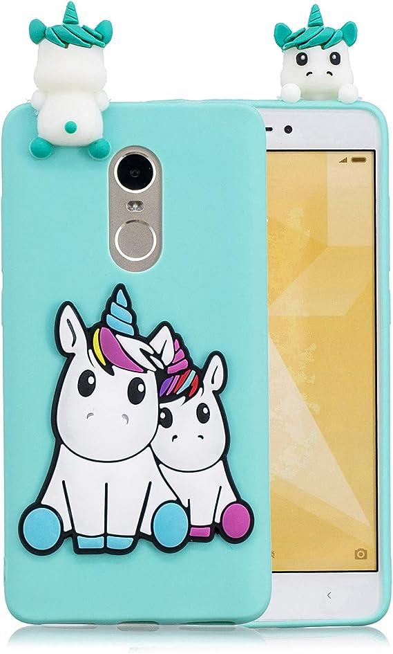 Carols Xiaomi Redmi Note 4 (5,5 Pulgadas) 3D Caricatura Teléfono ...