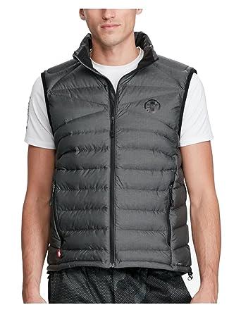 Ralph Lauren Polo Sport Men Packable Down Jacket Vest Large L