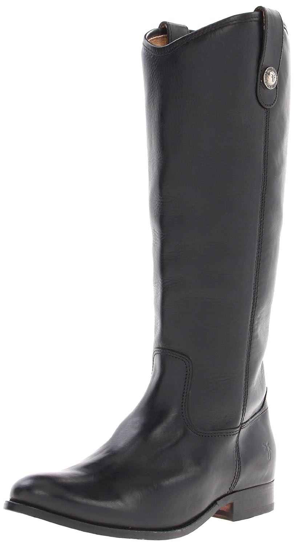 Black Soft Vintage Leather Frye Women's Melissa Button Boot