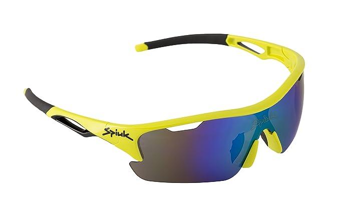 Spiuk jifter Brille, Unisex Erwachsene Einheitsgröße Rot/Schwarz