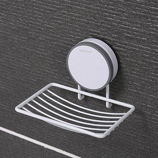 Powerful suction cup holder Detachable drainable kitchen bathroom shelf