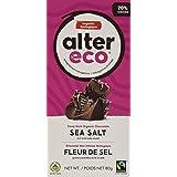 Alter Eco Fair Trade Dark Sea Salt Chocolate, 80g