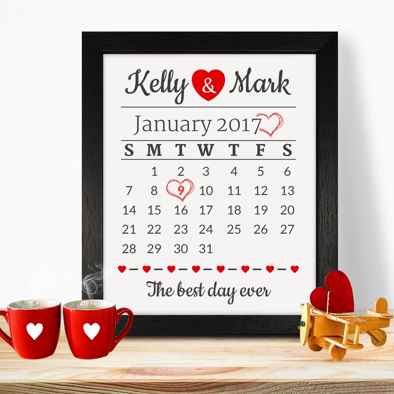 Personalised Presents Gifts For Him Her Husband Wife Couples