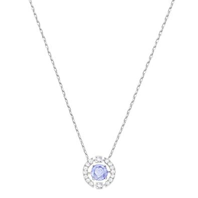 c70e33553 Image Unavailable. Image not available for. Color: Pendant Swarovski  Sparkling Dance Round 5279425 Woman Crystal