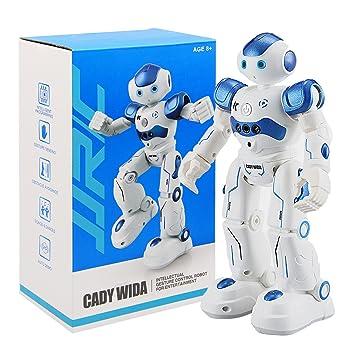 Jouet Robot Intelligent, Beetest® USB De Charge Danse Geste Contrôle RC Robot  Jouet pour f892dd44cb82