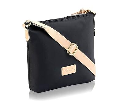 0d46313d9b8e7 RADLEY New Pocket Essentials Small Zip Top Cross Body Bag In Ink Black:  Amazon.co.uk: Shoes & Bags