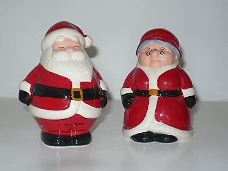 Publix Christmas Hours.Publix Santa Mrs Claus Salt Pepper Shakers