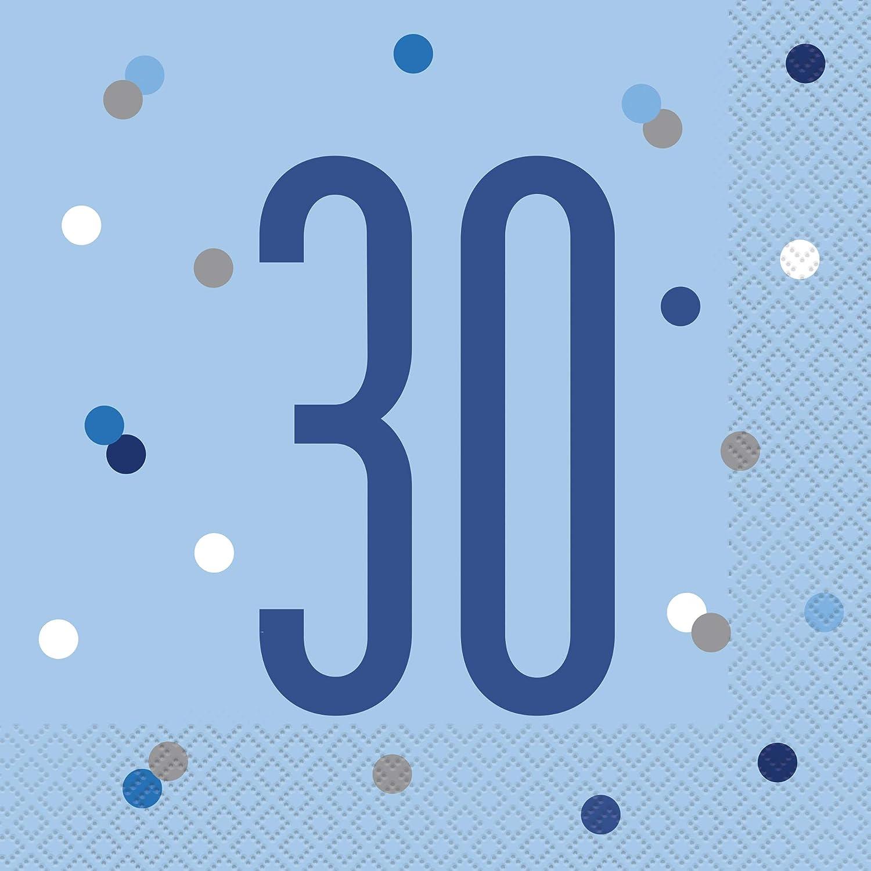 Unique Party 84260 Candle Age 0 Blue