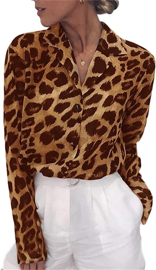 Damen Rollkragen 3//4 Arm Bluse Tops Hemd Lose Freizeit Pocket Shirts Pullover