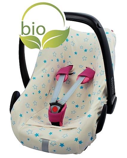 byboom – Funda de verano, colchón para bebé Cuenco de 100% de algodón ecológico