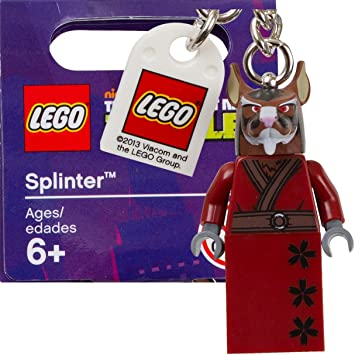 LEGO Teenage Mutant Ninja Turtles: Splinter Llavero: Amazon ...