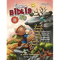 Nuevo Testamento - Cuaderno para colorear y de actividades - Bilingüe: New Testament Coloring and Activity Book…