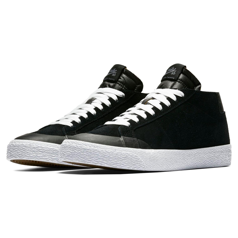 Nike SB Zoom Blazer Chukka XT, Zapatillas de Deporte para Hombre 44 EU|Multicolor (Black/Black/Gunsmoke 001)