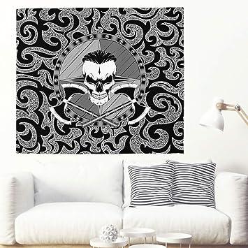 Bandera pirata vikinga, tapiz psicodélico de pared, toalla de pared, hippie pared colgante
