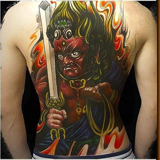 adgkitb 2 Piezas Tatuajes temporales Pegatina 3D Arte Corporal ...