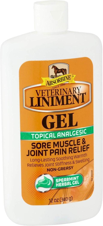Absorbine Veterinary Liniment Gel 340 g