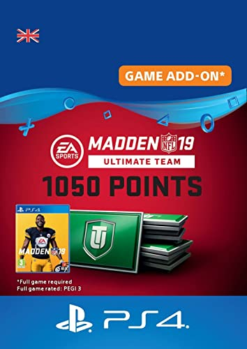 Madden NFL 19 Ultimate Team 1050 Points Pack - 1050 Points