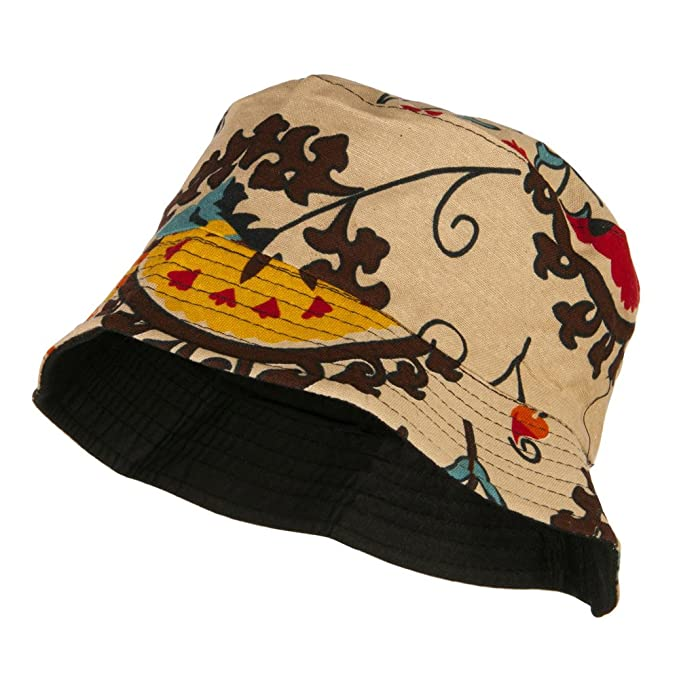 4470738a467 Jeanne Simmons Women s Floral Design Bucket Hat - Tapestry OSFM at ...