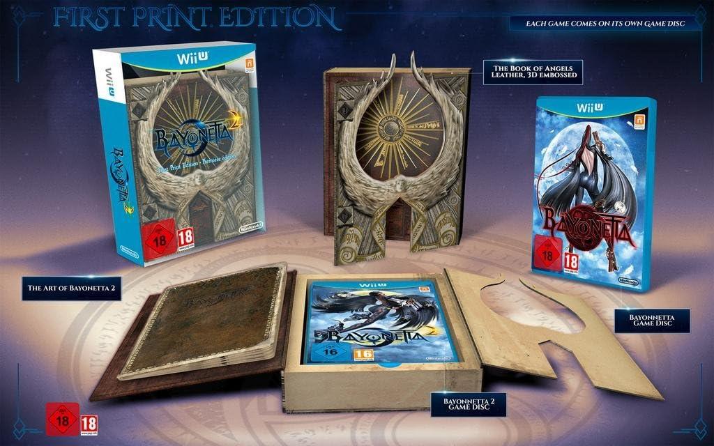 Bayonetta 2 First Print Edition (Includes Bayonetta 1) [Importación Inglesa]: Amazon.es: Videojuegos
