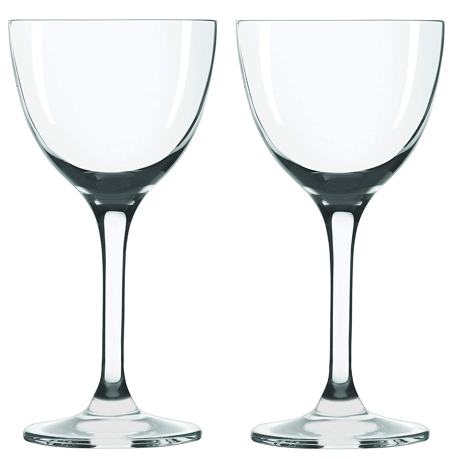 Liquor and Spirit Tastings Port Wine Aperitif Set of 2 for Bar Serving Martini Algonquin Straight Up 5oz Manhattan Gin Drinks Nick /& Nora Cocktail Glasses Small Plain Vintage Coupe Glass