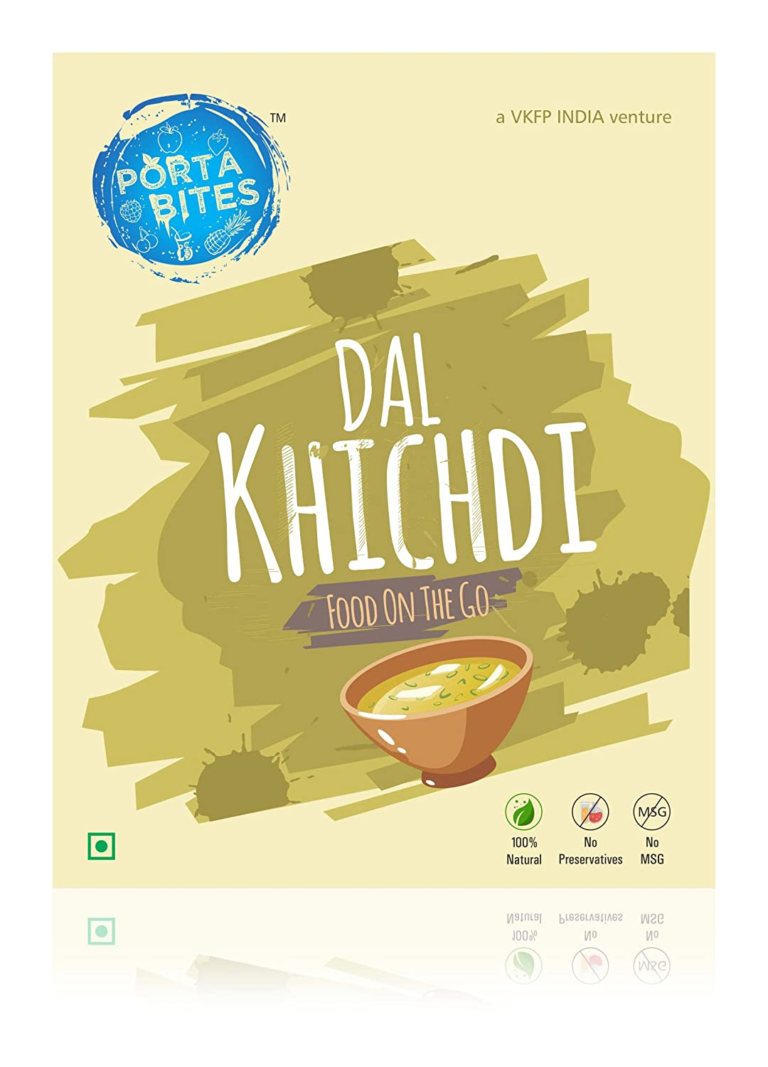 Porta Bites Dal Khichdi 60 Grams Pack Of 2 Grocery Voucher Joox Gourmet Foods