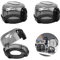 Cubiertas de Seguridad para Perillas del Horno 3 Pcs Bloqueo de Protección de Estufa de Cocina de 75*50mm, Cubiertas…