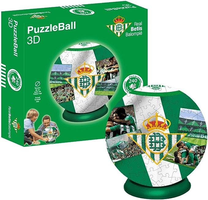 Kappa Puzzleball Real Betis (Tamaño Balón) 8,4 (63706), Multicolor, Ninguna: Amazon.es: Juguetes y juegos
