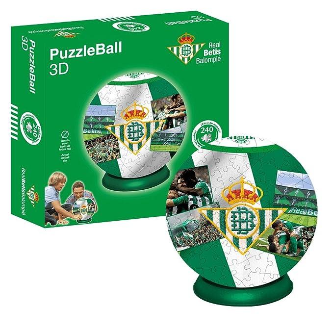 Kappa Puzzleball Real Betis (Tamaño Balón) 8,4 (63706), Multicolor ...