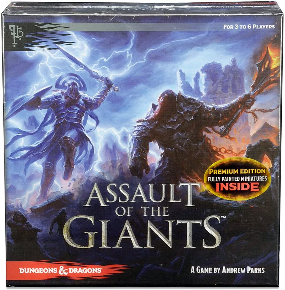 Dungeons Dragons Assault Of The Giants Board Game Premium Edition Toys Games