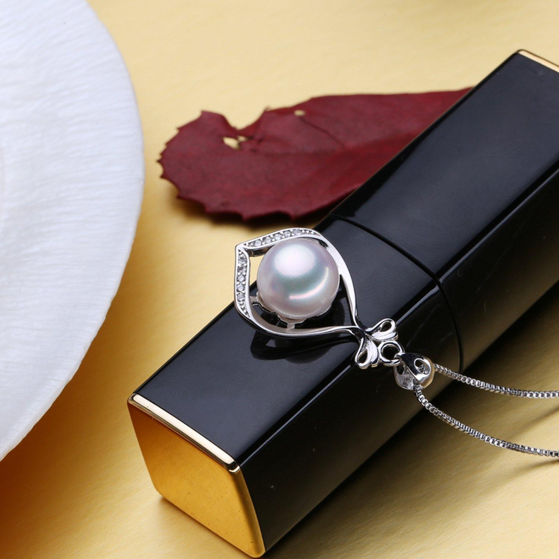 CS-DB Pendants Pearl Fashion Silver Necklaces