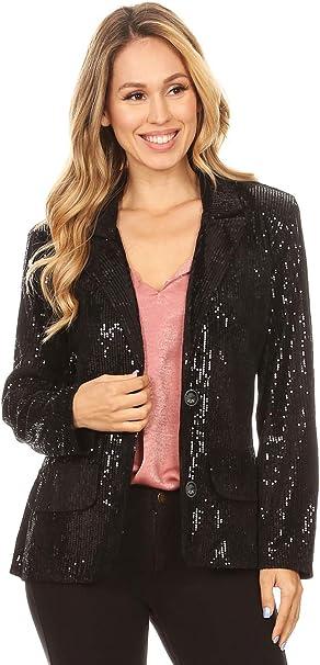 Long Sequin Evening Jackets