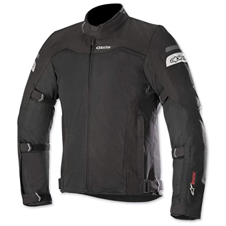 Alpinestars Chaqueta Moto Impermeable Leonis Drystar Air Negro (M, Negro)