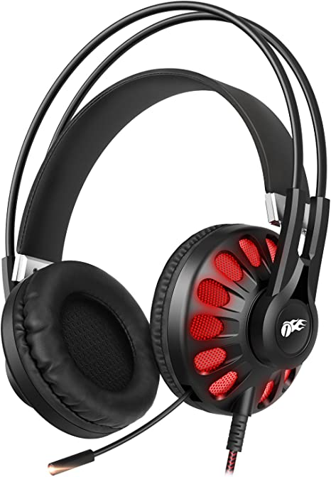 Mpow EG3 Stereo Gaming Headset 7.1 Surround Sound Headphone for PS4 Desktop PC